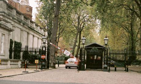Kensington Palace Gardens.