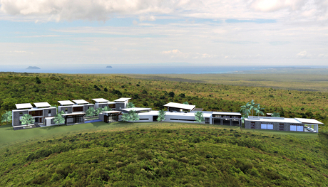Artist's impression of Pikaia Lodge Galapagos