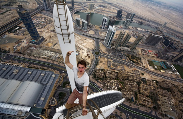 Daredevils Over Dubai In Pictures World News The