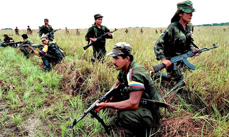 Farc soldiers