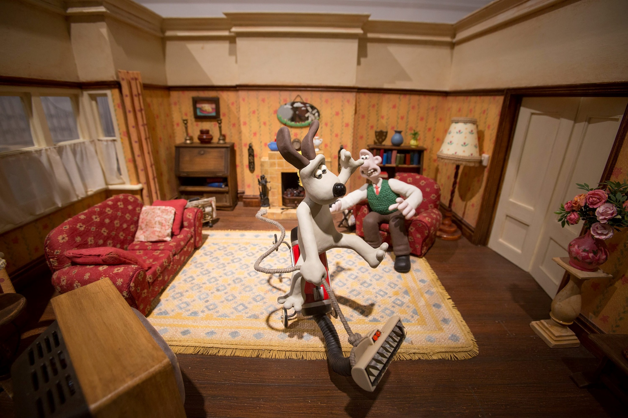 Wallace And Gromit Behind The Scenes In Pictures
