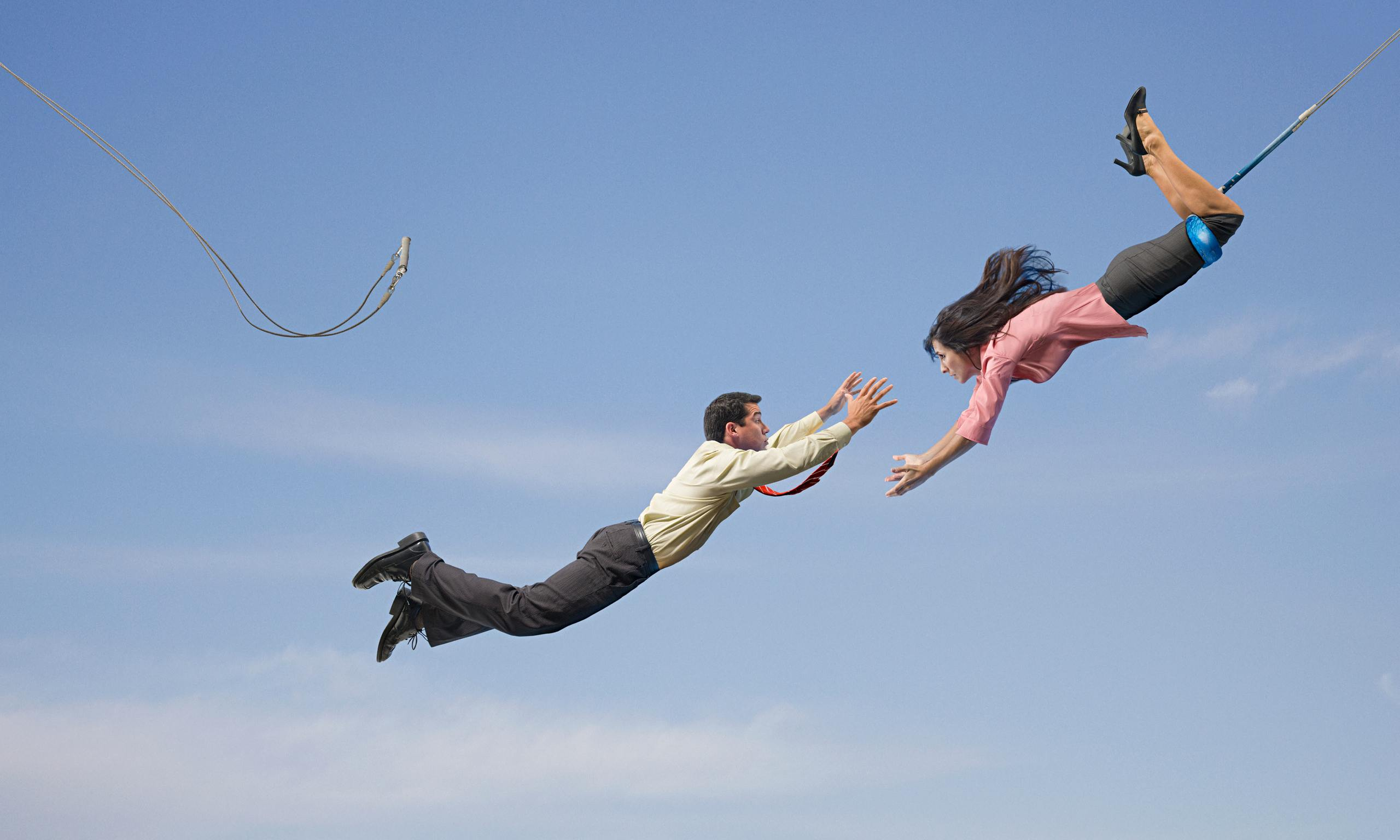 сообщение будет картинка с летящим человечком гардеробных