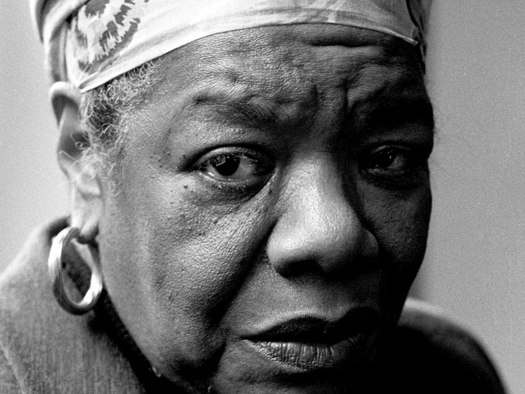 maya angelou a titan who lived as though there were no