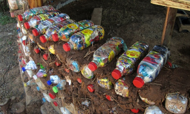 EcoBricks and education how plastic bottle rubbish is