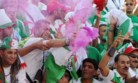 Algeria's supporters will be hoping their team has better luck in this year's football World Cup in Brazil.