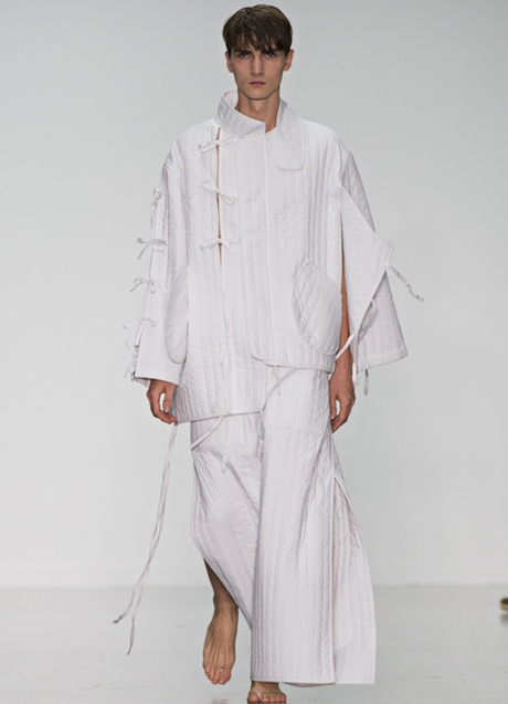 japanese style: Craig Green: Runway -  London Collections: Men SS15