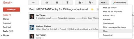 Mute Conversations   Gmail