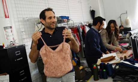 Dov Charney at American Apparel factory