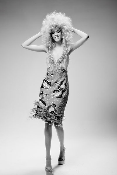 Fashion gallery: Dress in style of Dolly Parton