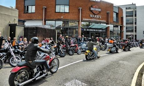 Harleys on the King's Road