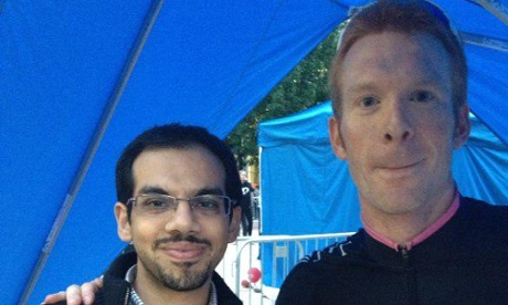 Ed Clancy Ride4Peace