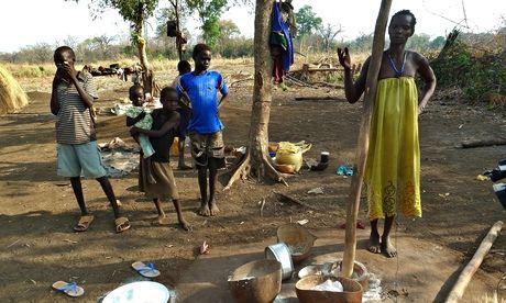Family in Gambella
