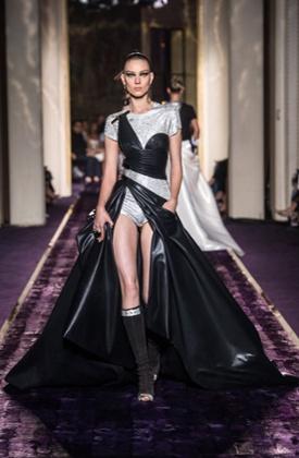 Versace Show, Paris haute couture fashion week.