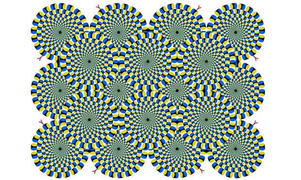 Dizzying Optical Illusions By Akiyoshi Kitaoka In