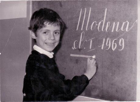 Massimo Bottura in Modena in 1969