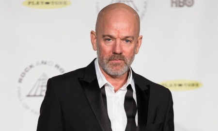 'Coupland's images of jumpers and of the ultimate boogeyman, Bin Laden, remind us of how deep inside us those images are lodged' ... Michael Stipe. Photograph: Michael Zorn/FilmMagic