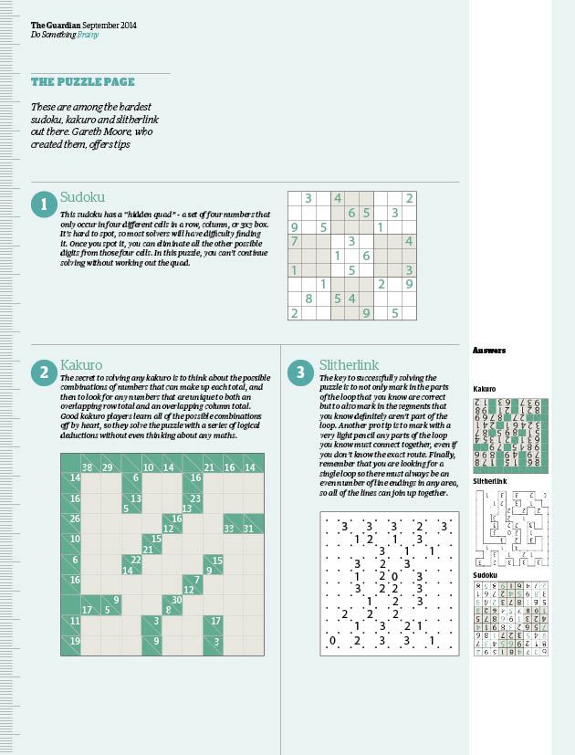 Feeling clever? Have a go at these tough Do Something puzzles | Life