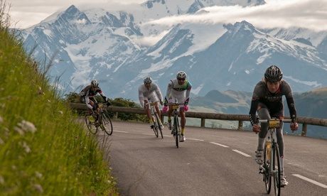 Warming up on Haute Route Alps Day 2