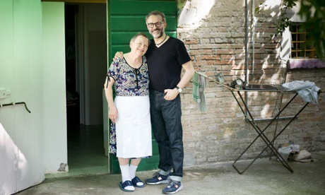 Massimo Bottura with with Lidia Cristoni