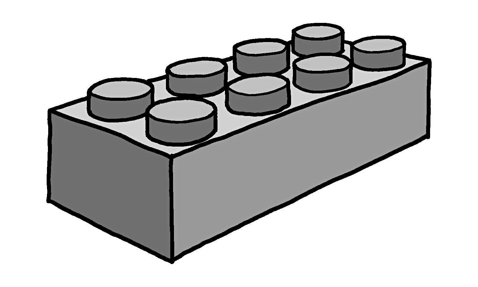 lego brick side view clipart - photo #23