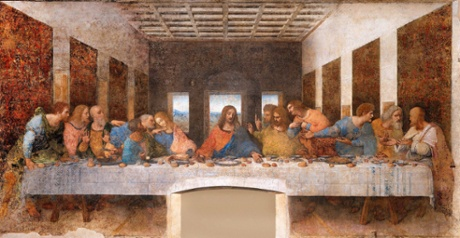 Da Vinci's The Last Supper.