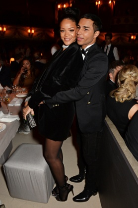 Rihanna and Olivier Rousteing