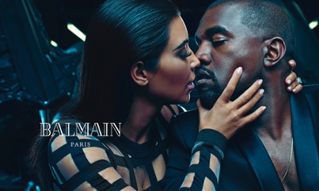 Balmain SS15 menswear ad campaign.