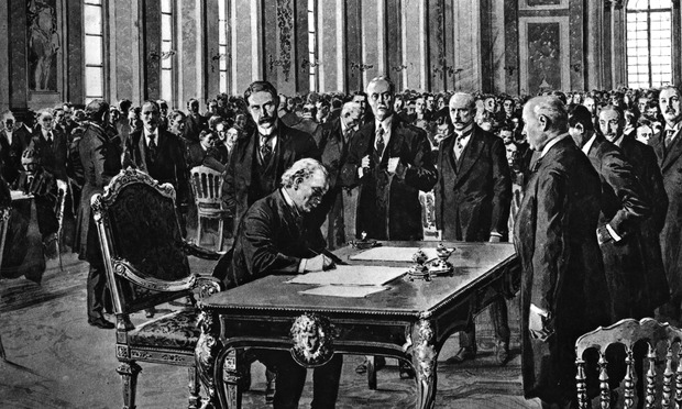 the consequences of the treaty of versailles for the german economy and politics The anniversary of world war i's beginning is a good time to challenge conventional wisdom: did the versailles treaty actually cause world war ii.