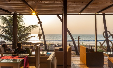 The Elevar, on Ashvem Beach, is a great place to watch the sun go down