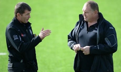 Rob Baxter and Dean Richards