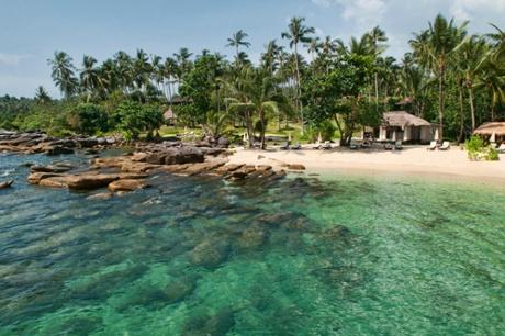 Empty beach on Koh Kood