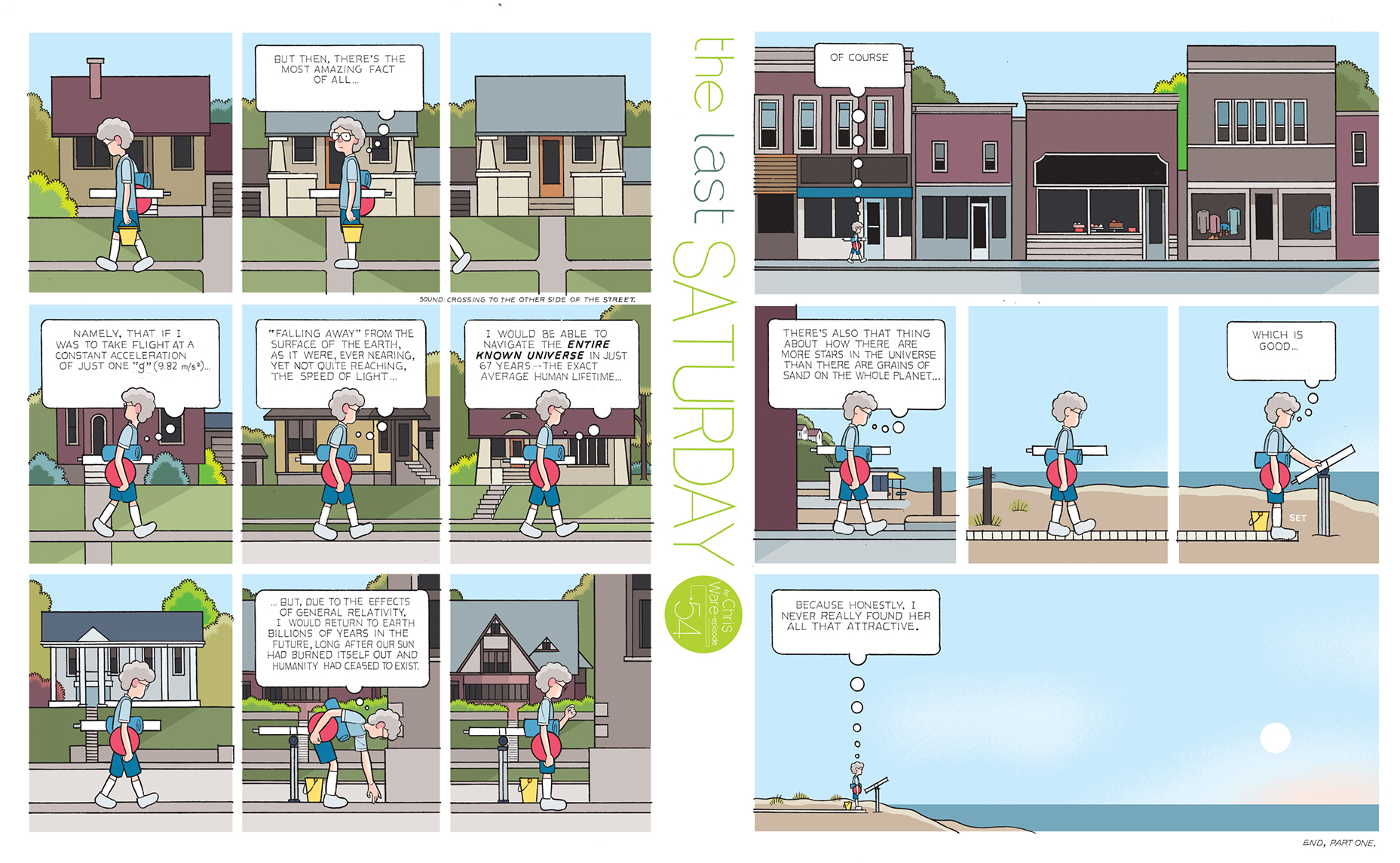 The Last Saturday, by Chris Ware   Books   The Guardian
