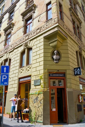 'Wes Anderson chic': Sladkovsky, bar and cafe, which does a mean goulash.