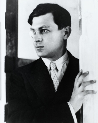 Tristan Tzara photo by André Kertész