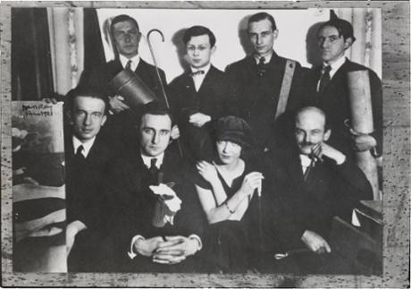Le groupe Dada, 1922