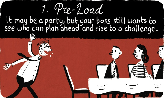 Christmas Party Images Cartoon.Stephen Collins On Office Christmas Parties Cartoon Life