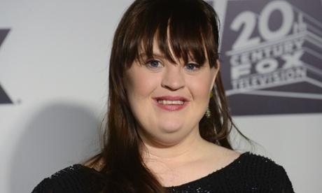 Jamie Brewer at the Fox Golden Globe party in January