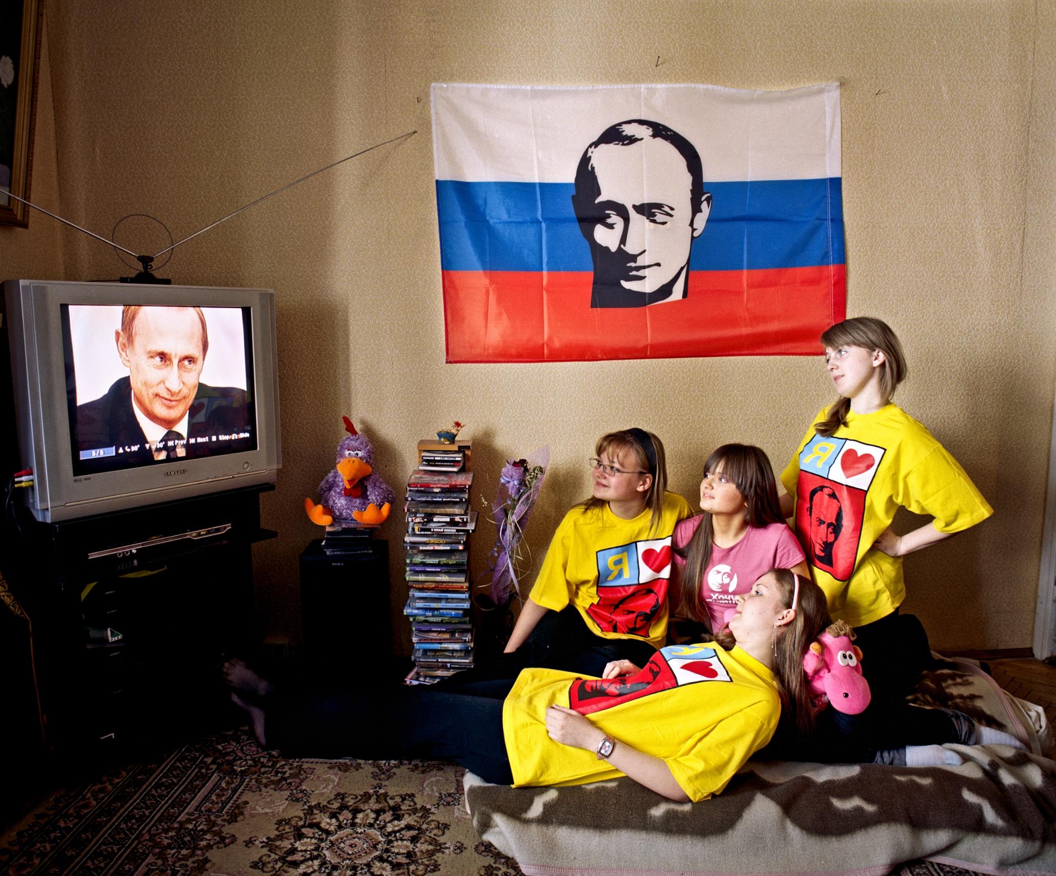 Putin S Teenage Fan Club The Russian President S Young