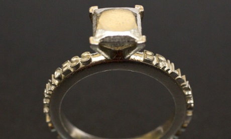 3D rings - the bronzed version.