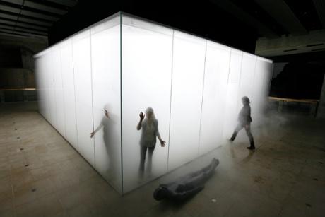 Blind Light, by Antony Gormley, at London's Hayward Gallery.