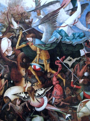 The Fall of the Rebel Angels, 1562, by Pieter Bruegel the Elder