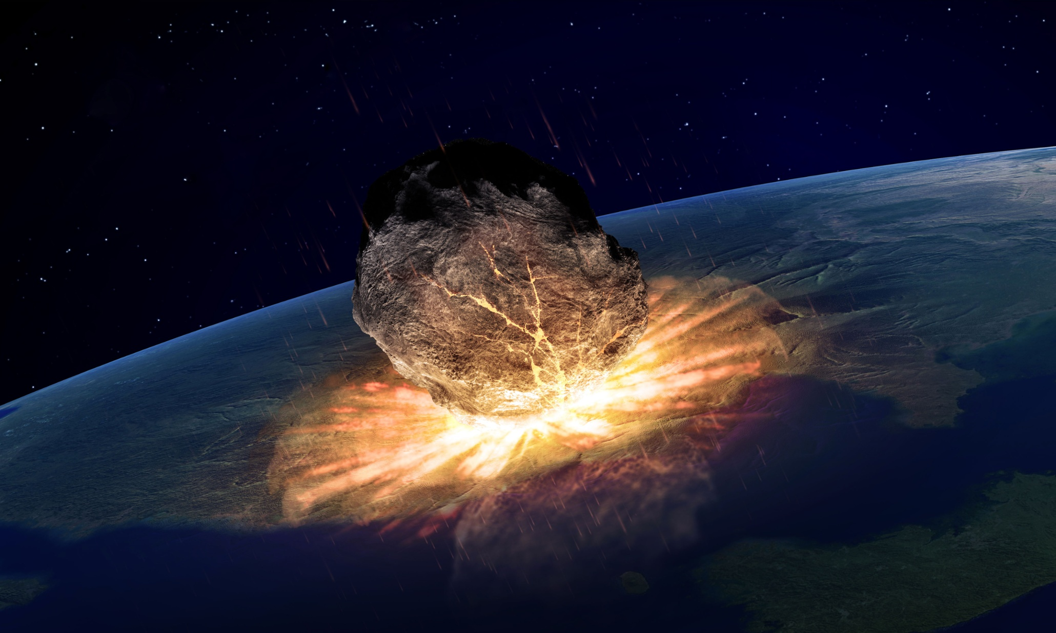 largest asteroid hit earth - photo #48