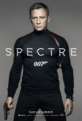 James Bond does normcore, again, in the Spectre poster