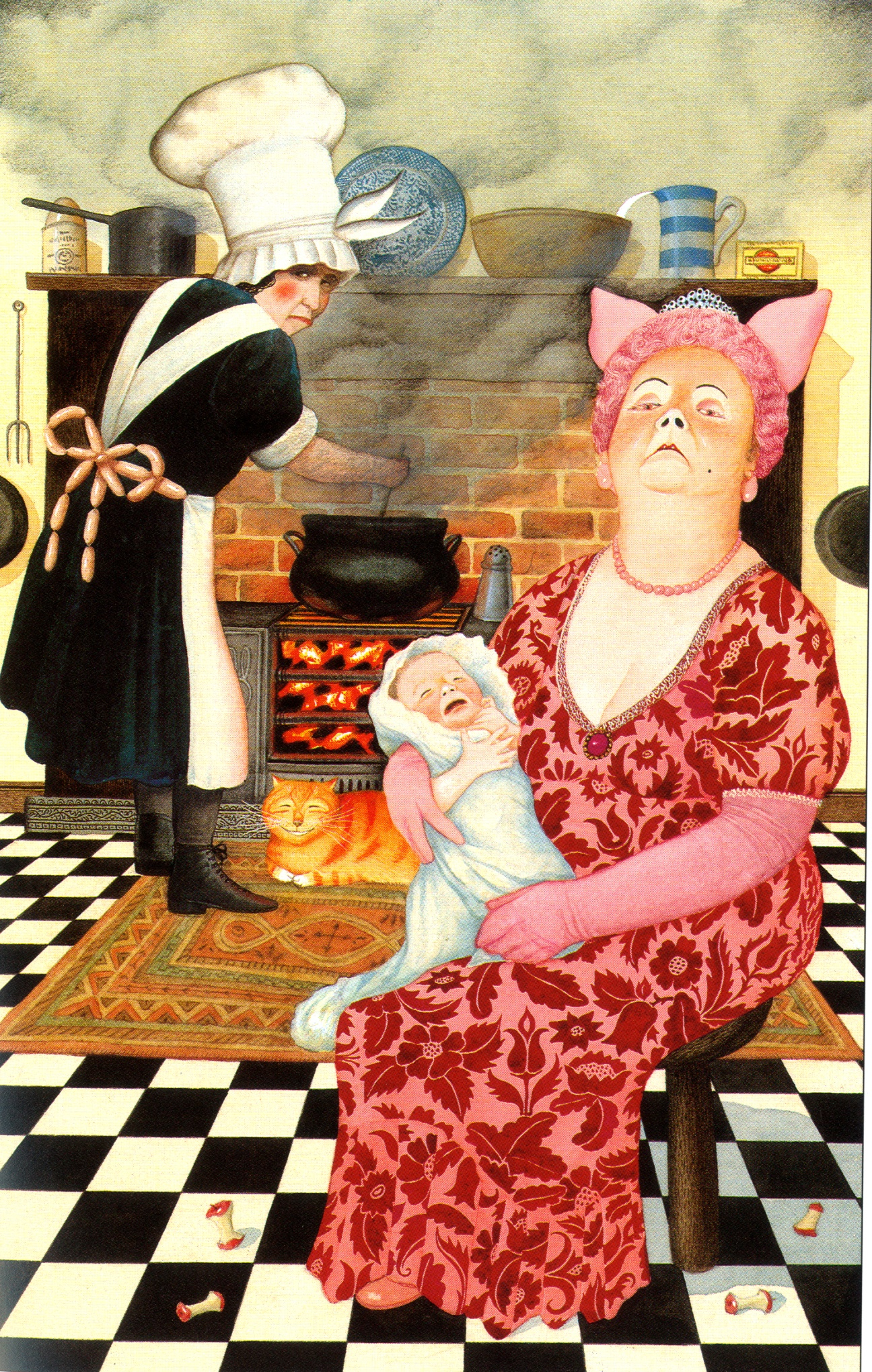 Anthony Browne: how I re-imagined Alice in Wonderland ...