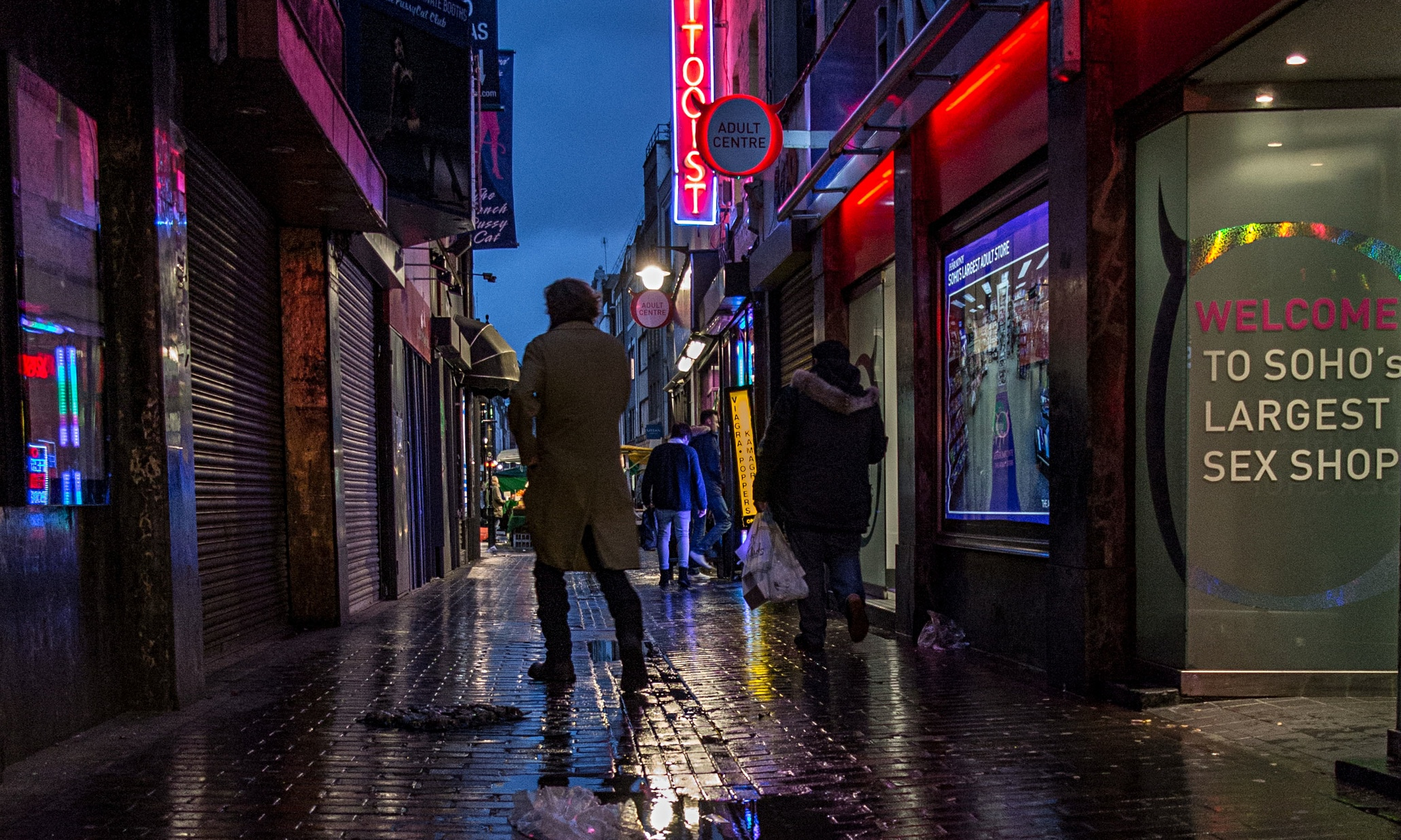 London Red District