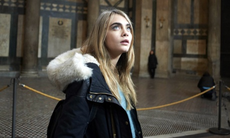 Cara Delevingne in 'The Face of an Angel'.