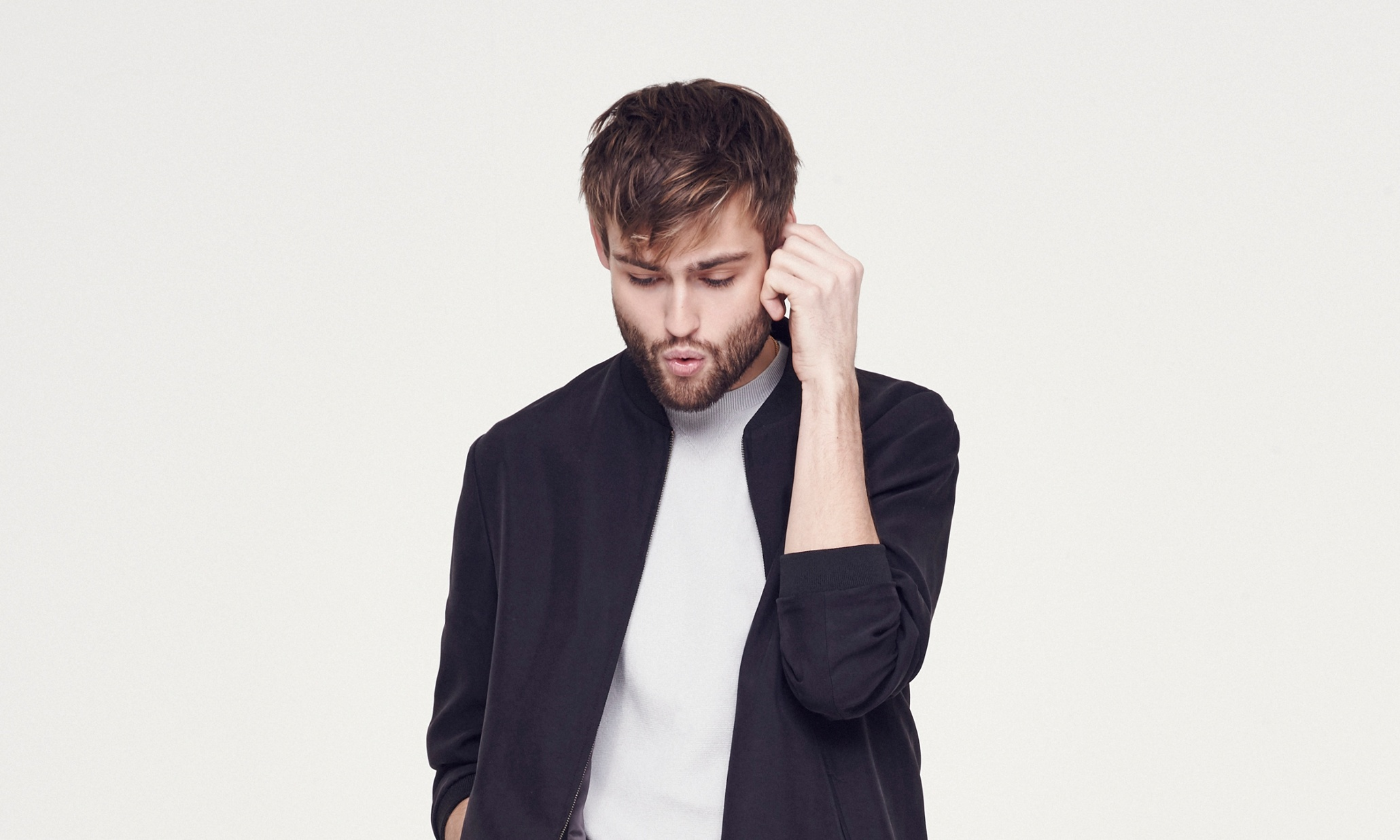 Douglas Booth: 'I'm a 90-year-old trapped in a young body ...