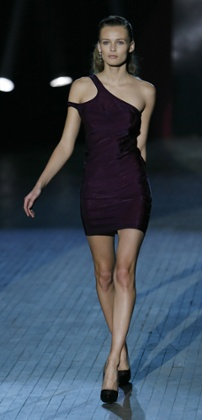 From the autumn/winter 2009 collection: The inclusion of an LBD shows a new maturity, as the label grows in polish