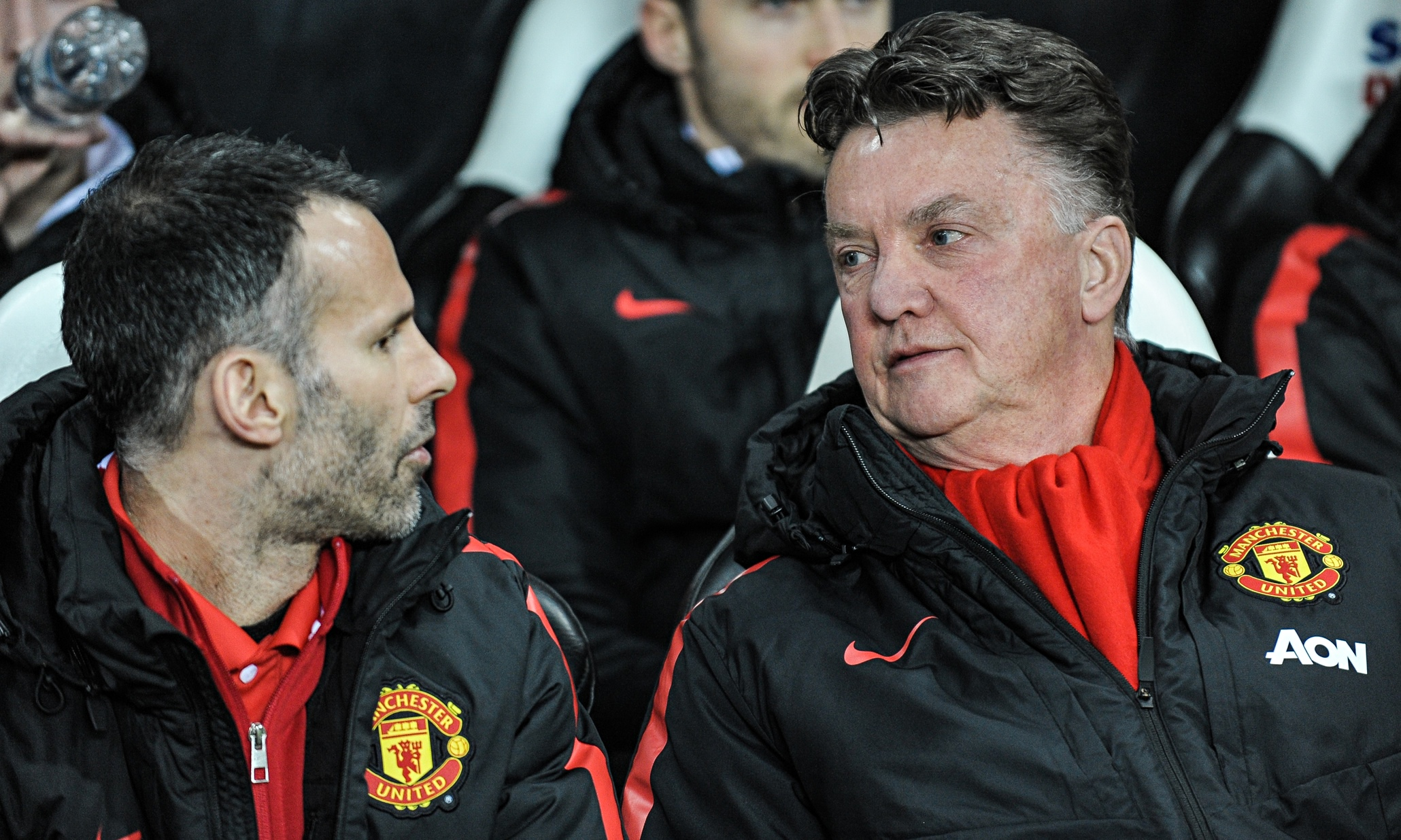 Louis Van Gaal Denies Rift With Manchester United