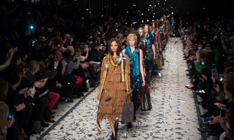 Burberry's autumn collection at London fashion week – analysts say the brand's ability to adapt is key to its success.